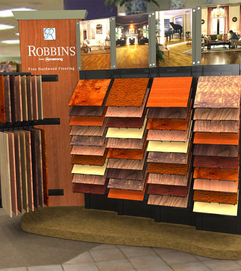 Vulcan Industries Flooring Display Fixtures Vulcan