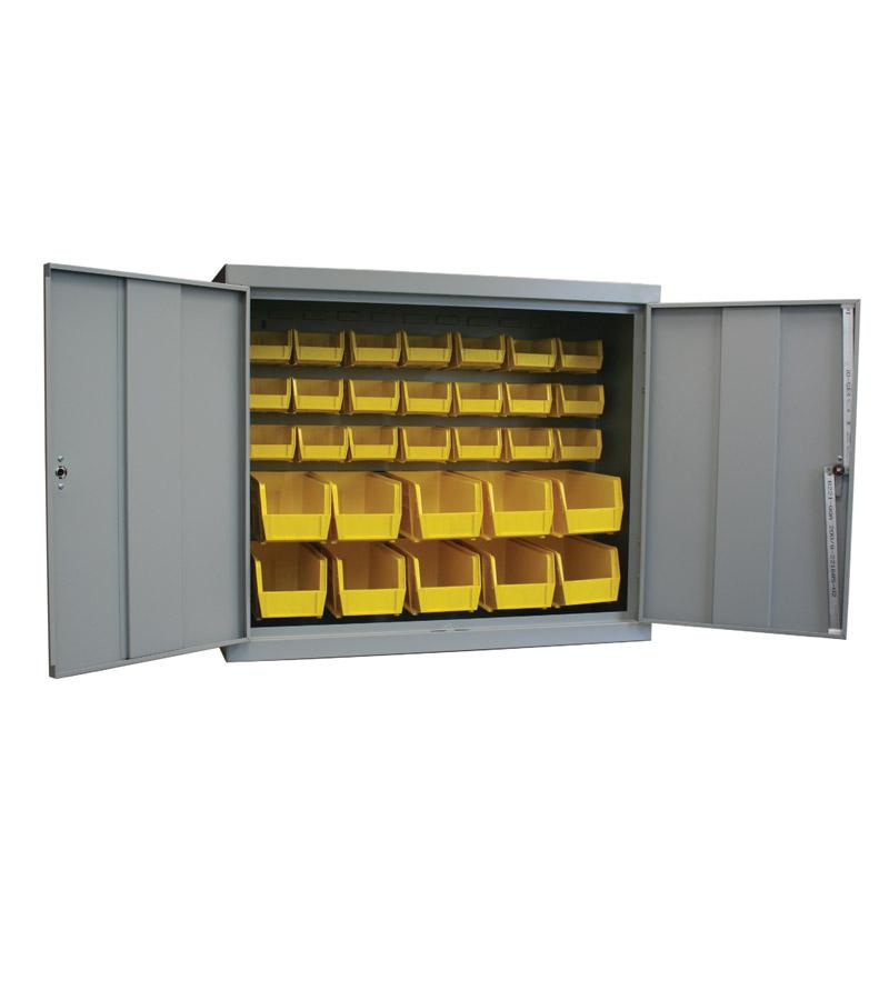 Heavy duty cabinet hardware