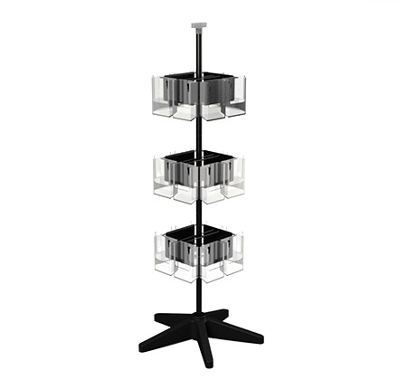 Clear Vue with Heavy-Duty Base