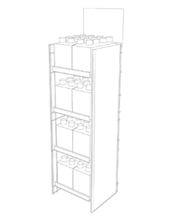 convenience store fixture