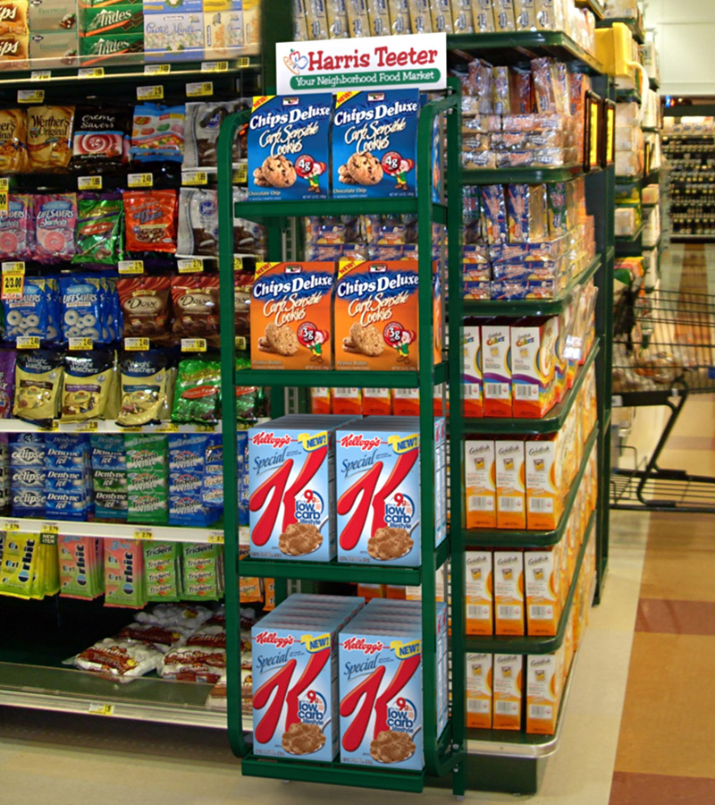 Vulcan Industries Grocery Display Fixtures